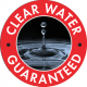 Clear water guarantee