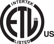Intertek ETL Listed