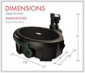 Inpond 300 Dimensions